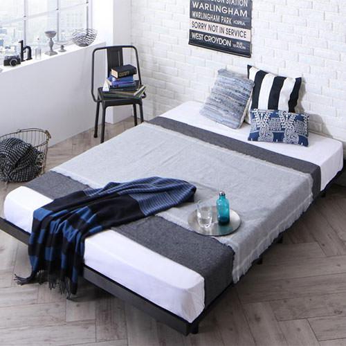 ベッド ダブル ロー すのこ かっこいい ベット ダブルベッド ダブルサイズ ダブルタイプ フロア ロータイプ ステージ フロアベッド ステージベッド フロアタイプ すのこタイプ すのこ板 すのこ式 すのこ式ベッド カッコいい スタイリッシュ 男前 ローベッド すのこベッド