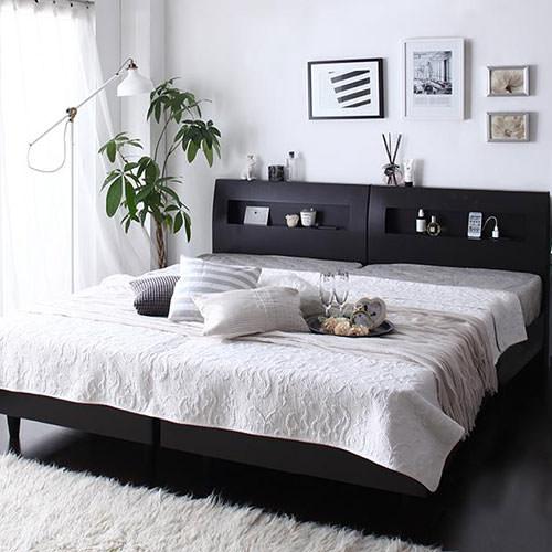 ベッド キング 連結 すのこ ラグジュアリー ベット キングベッド キングサイズ キングタイプ 連結式 連結タイプ つなげる ジョイント可能 繋げる ジョイント すのこタイプ すのこ板 すのこ式 すのこ式ベッド ラグジュアリーテイスト ゴージャス 連結ベッド すのこベッド