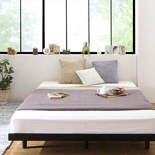 ダブルベッド おすすめ ロー すのこ ベット ダブルベッド ダブルサイズ ダブルタイプ フロア ロータイプ ステージ フロアベッド ステージベッド フロアタイプ すのこタイプ すのこ板 すのこ式 すのこ式ベッド おすすめタイプ ローベッド すのこベッド おすすめベッド