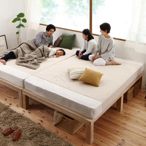 キング ベッド 連結 すのこ シンプル ベット キングベッド キングサイズ キングタイプ 連結式 連結タイプ つなげる ジョイント可能 繋げる ジョイント すのこタイプ すのこ板 すのこ式 すのこ式ベッド クラシック モダン クラシックタイプ 連結ベッド すのこベッド シンプル