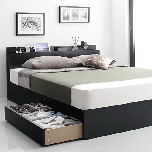 ベッド ダブル コンセント 収納 おしゃれ ベット ダブルベッド ダブルサイズ ダブルタイプ コンセント付き コンセント付きベッド コンセントタイプ 収納付き 大容量 収納タイプ 収納つき 大容量ベッド オシャレ おしゃれ感 コンセントベッド 収納ベッド おしゃれベッド