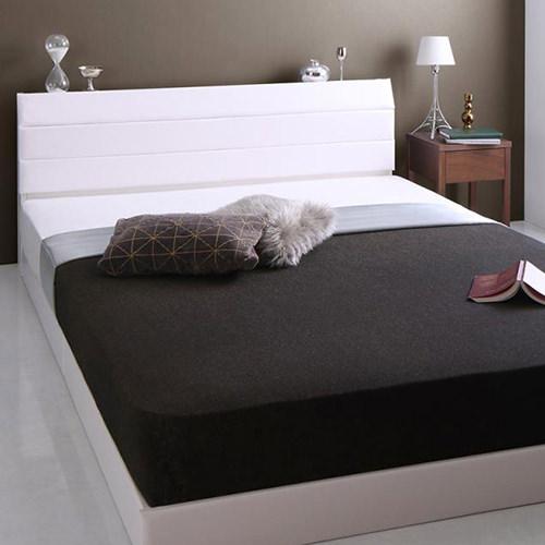 ベッド かっこいい ダブル すのこ コンセント ベット ダブルベッド ダブルサイズ ダブルタイプ すのこタイプ すのこ板 すのこ式 すのこ式ベッド コンセント付き コンセント付きベッド コンセントタイプ カッコいい スタイリッシュ 男前 すのこベッド コンセントベッド