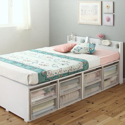 収納 ベッド セミダブル コンセント かわいい ベット セミダブルベッド セミダブルサイズ セミダブルタイプ コンセント付き コンセント付きベッド コンセントタイプ 収納付き 大容量 収納タイプ 収納つき 大容量ベッド かわいいタイプ コンセントベッド 収納ベッド かわいい