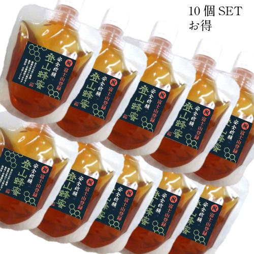 生はちみつ 国産 非加熱10個SET割引き価格 安全祈願 登山蜂蜜 70g10個SET受験勉強にこれ1個で遭難時に大活躍 おまとめご購入価格酵素たっぷりの生蜂蜜は健康食品