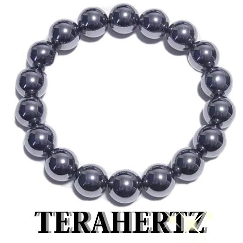 ☆最高級品質 テラヘルツ 12mm大玉テラヘルツブレスレット【内周約20cm】【送料無料】公的機関で品質を調べたテラヘルツです。安心をお届けします。