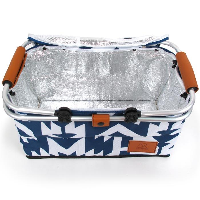 クーラーバスケット クーラーボックス クーラーバッグ 保冷 バッグ 35リットル 50/50WORKSHOP Cooler Basket