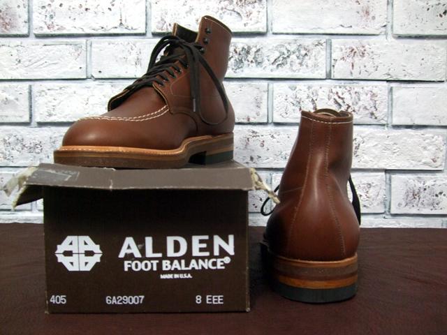 알 덴 # 405 Indy Boots 인디 부츠/BROWN (1)