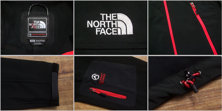 THE NORTH FACE the north face POLARTEC GRITSTONE jacket /RED/BLACK