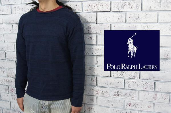 abac3092a POLO by Ralph Lauren Ralph Lauren linen  amp  cotton indigo Malin sweater  ...