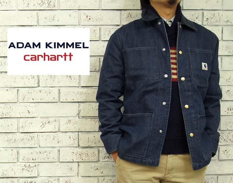 Carhartt CARHARTT×ADAM KIMMEL デニム カバーオール ジャケット あす楽