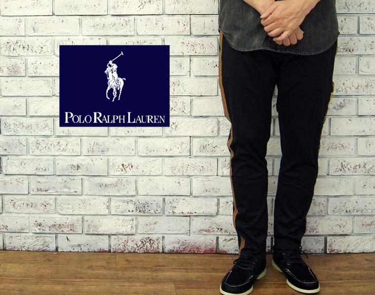 POLO by Ralph Lauren ラルフローレン コイルワッペン サイド 刺繍パンツ あす楽