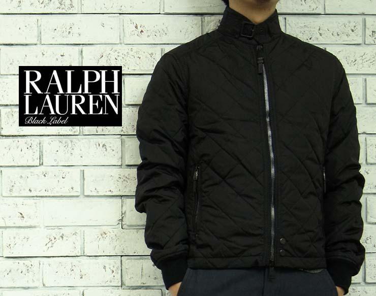 BLACK LABEL by Ralph Lauren ラルフローレン ブラックレーベル キルティング モーターサイクル ジャケット あす楽