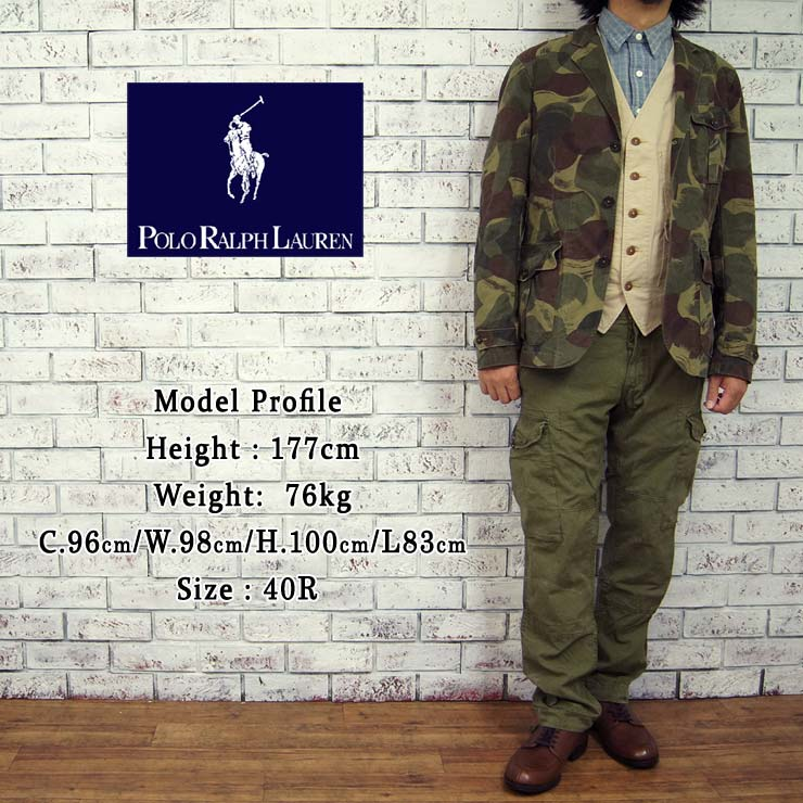 9d75c1b0ad93f ... POLO by Ralph Lauren Ralph Lauren camouflage with tailored jacket /CAMO  02P07Nov15