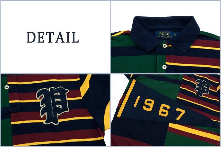 7f00455b2 BEEF: Ralph Lauren CUSTOM FIT patchwork pennant Polo | Rakuten ...