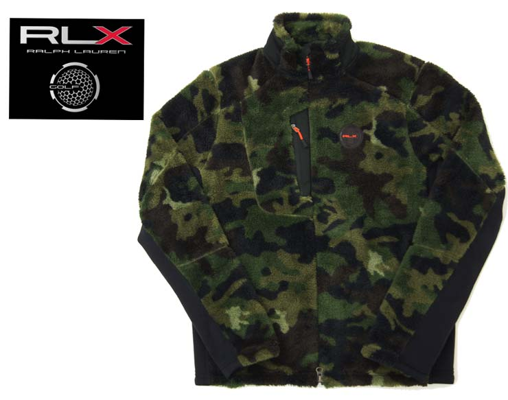 5d9279269515a BEEF: Ralph Lauren RLX CAMO zip up fleece jacket | Rakuten Global Market