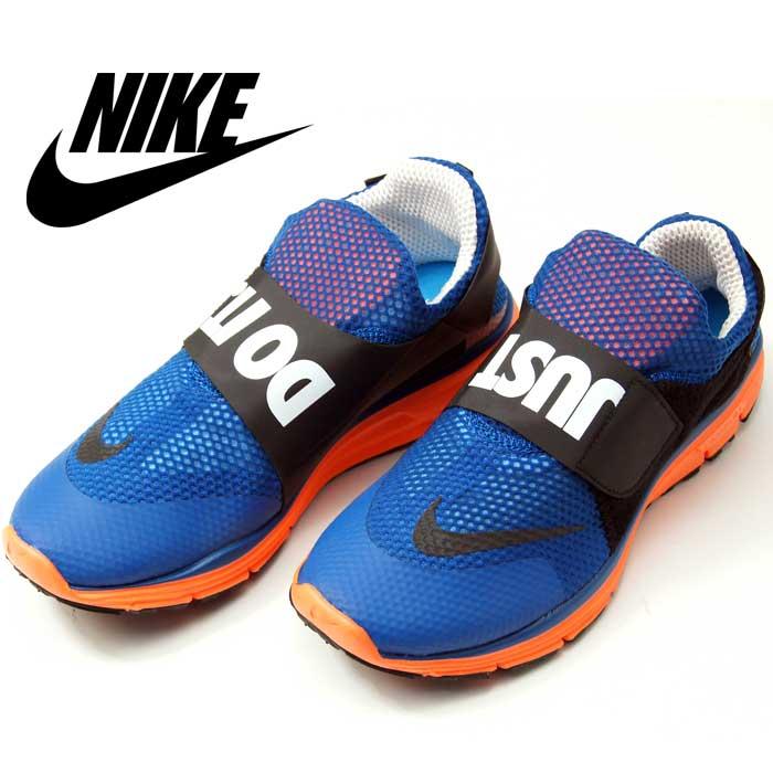 192596b38b1a NIKE LUNAR FLY 306 Nike Lunar fly 644395 400 blue orange ... Nike Lunarfly  306 Mens Just Do It ...