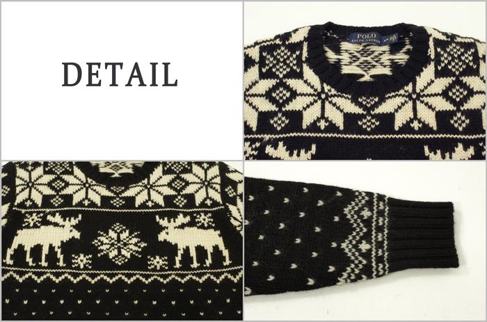 a98ff4e536 BEEF  POLO by Ralph Lauren Ralph Lauren Nordic snow pattern sweater ...