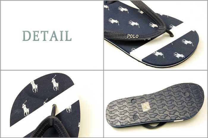 15bf151bd BEEF  POLO by Ralph Lauren Ralph Lauren multi pony Beach sandals ...