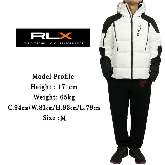 RLX Ralph Lauren Hooded down parka jacket