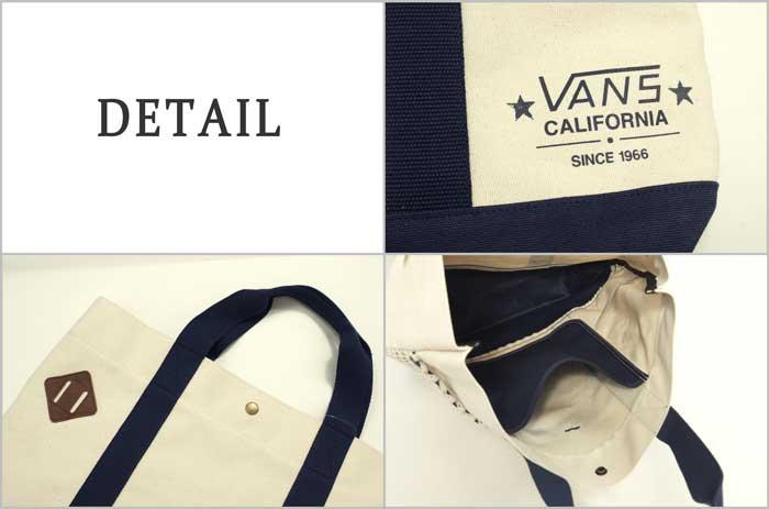 f392d75e0f BEEF  VANS vans OFF THE WALL canvas tote bag