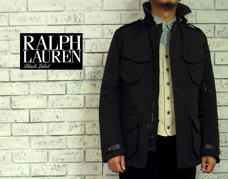 BLACK LABEL by Ralph Lauren ラルフローレン ブラックレーベル イタリア製 M-65 タイプ ジャケット あす楽