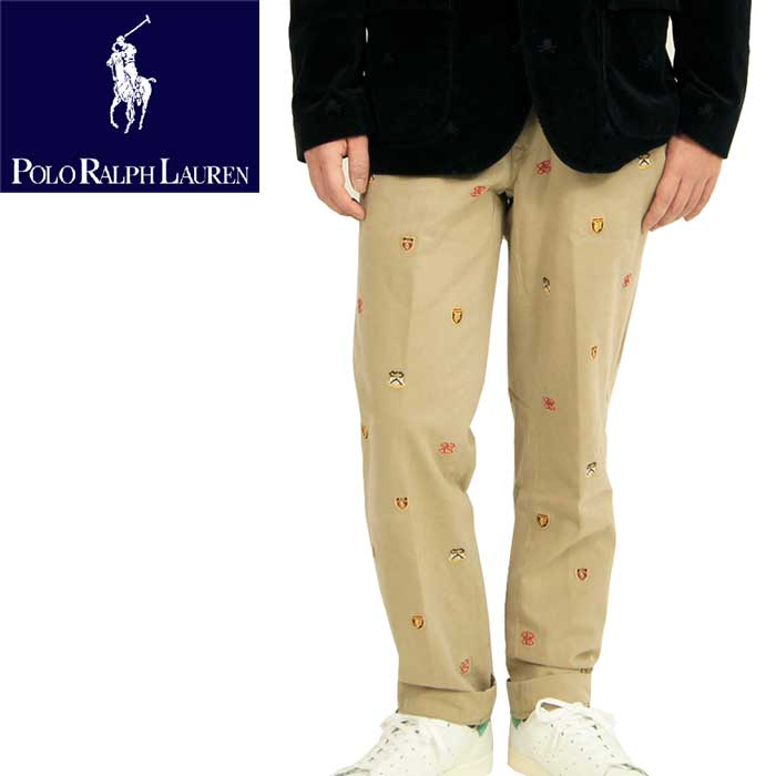 POLO by Ralph Lauren Ralph Lauren SLIM FIT multi emblem Chino pants