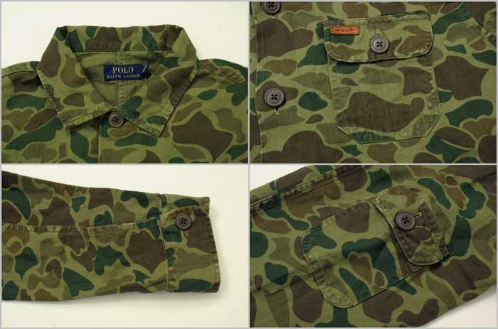 4f9f3947cd8d4 BEEF: POLO by Ralph Lauren Ralph Lauren Hunter Camo shirt jacket ...