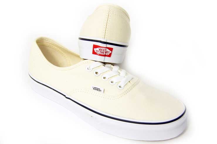 vans authentic ecru