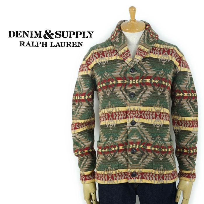 デニム&サプライ DENIM&SUPPLY Ralph Lauren ネイティブ ニット カーディガン あす楽
