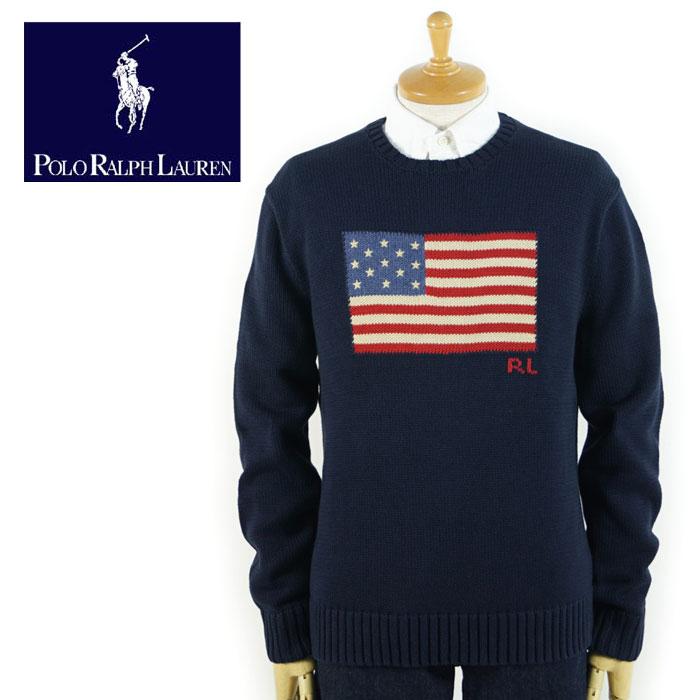 ラルフローレン POLO Ralph Lauren 星条旗 アメリカンフラッグ ニット セーター あす楽