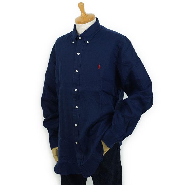 c0be7761 ... Ralph Lauren POLO Ralph Lauren one point pony linen button-down shirt  ...