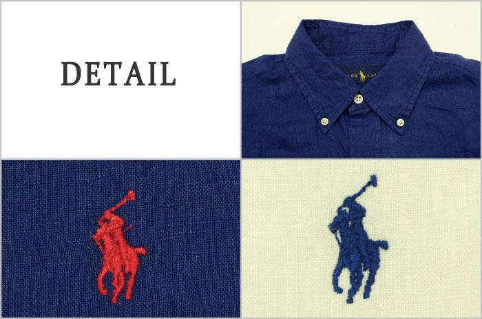 c0aff4c7 ... Ralph Lauren POLO Ralph Lauren one point pony linen button-down shirt