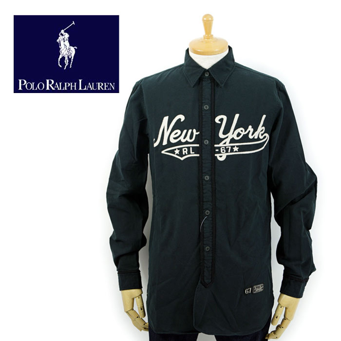 ラルフローレン POLO Ralph Lauren NEW YORK スポーツシャツ あす楽
