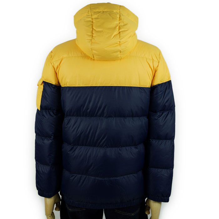 Down jacket dark blue / yellow with the Ralph Lauren POLO by Ralph Lauren  Boys two ton food