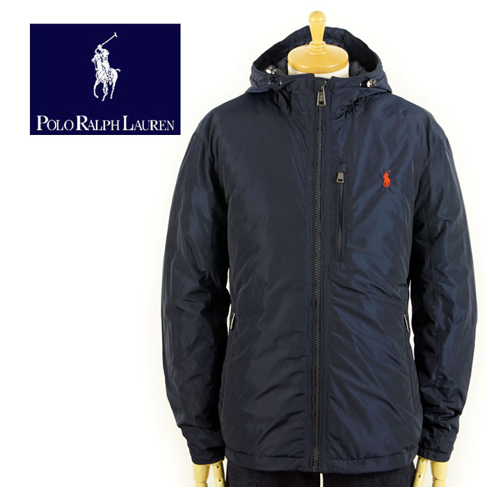 Ralph Jacket Parka Navy Pony Point Down Lauren One Polo doeCBrx