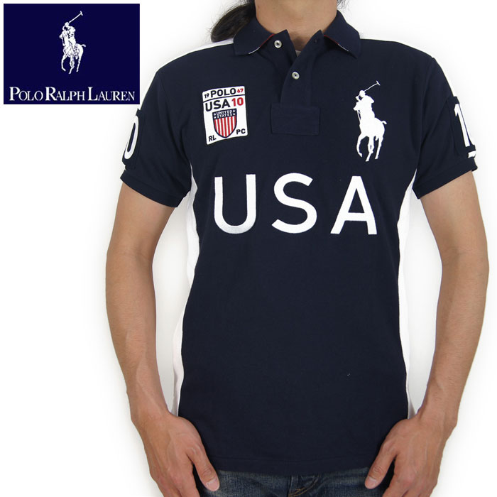 Beef Ralph Lauren Polo Ralph Lauren Custom Fit Big Pony Usa Polo