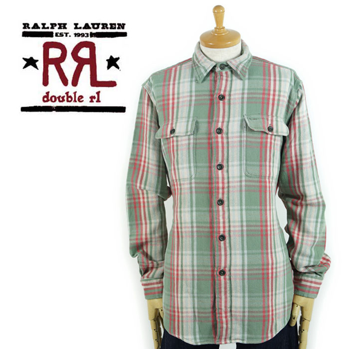 hot sales casual shoes hot new products Double are L RRL Ralph Lauren DOUBLE RL heavy flannel shirt