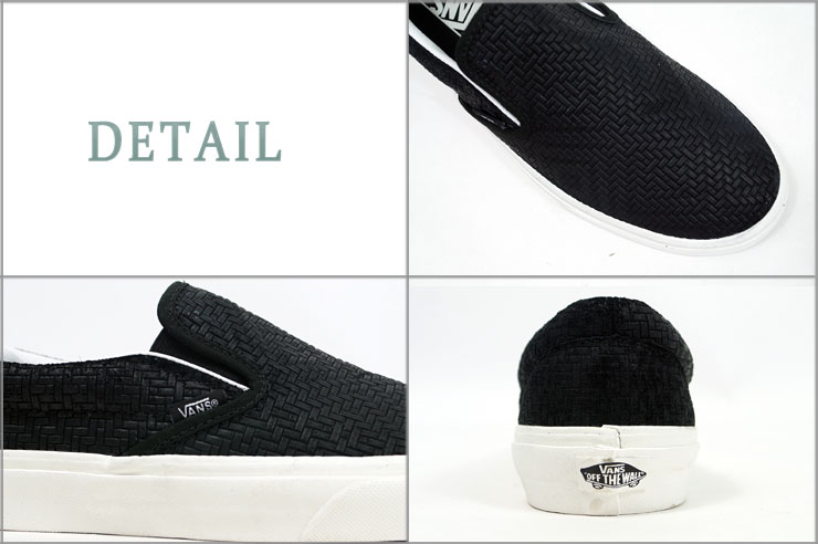 60e4103433 Station wagons VANS CLASSIC SLIP ON vans braid suede cloth classical music  slip-ons