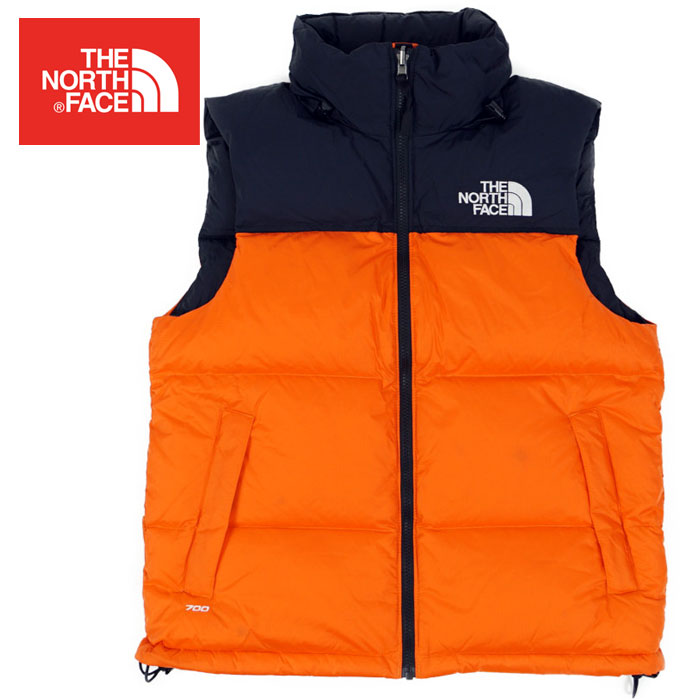 aedfb0d0c North Face 1996 レトロヌプシダウンベスト THE NORTH FACE 1996 RETORO NUPTSE VEST P ORANGE