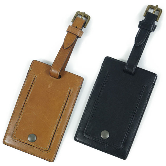 207a87df2b80 Two colors of Ralph Lauren POLO Ralph Lauren big pony leather luggage tags