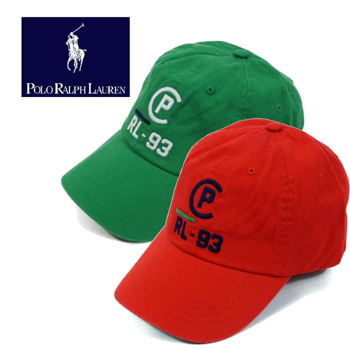 ラルフローレン コットン チノ RL-93 93復刻 キャップ POLO Ralph Lauren Classic Sports Cap