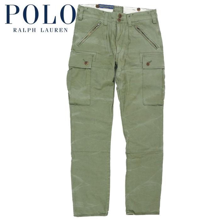 big collection los angeles various colors Ralph Lauren POLO Ralph Lauren slim fitting SLIM FIT cargo pant is green