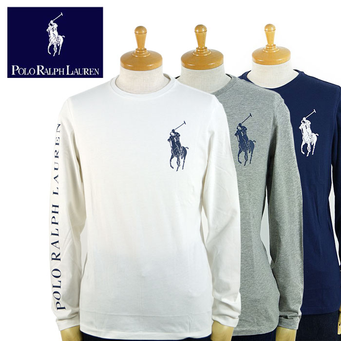 d8028ece Three colors of Ralph Lauren POLO Ralph Lauren big pony custom fitting  Longus Reeve T-shirt sleeve logos
