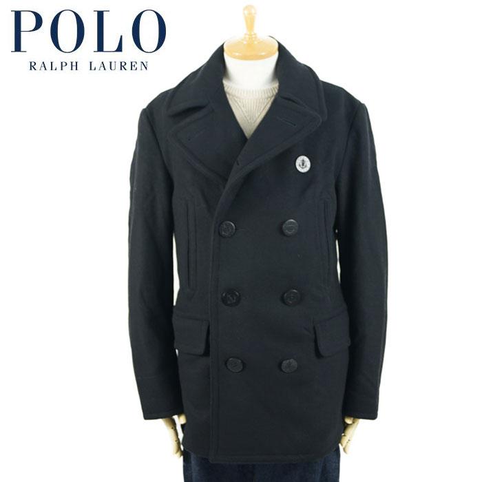 ラルフローレン POLO Ralph Lauren 10ボタン ピーコート P-COAT ブラック