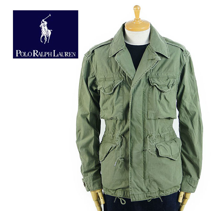 65 Type Military Lauren M Ralph Polo Jacket 29WHIYED