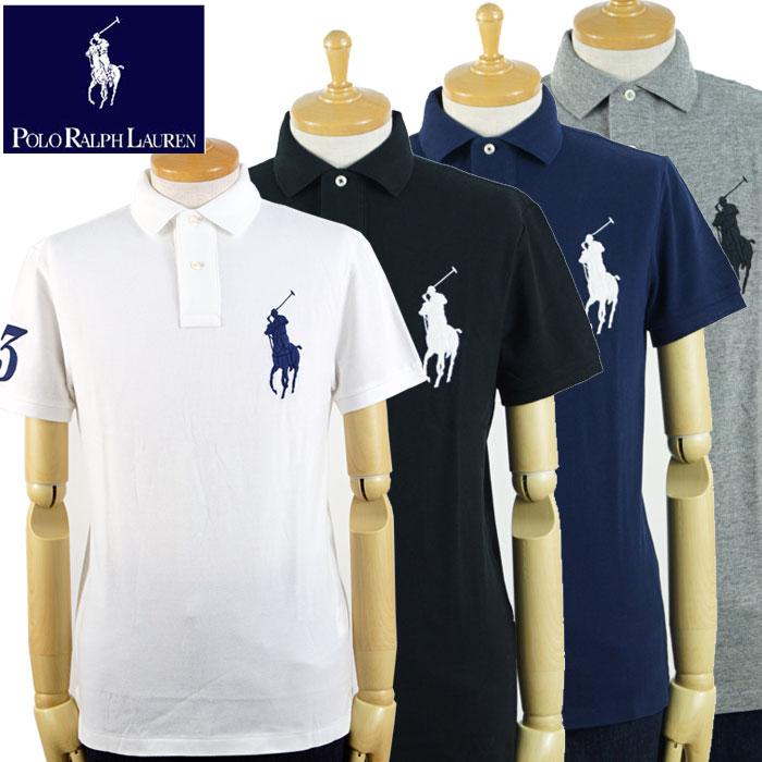 modischer Stil Online-Shop Heiß-Verkauf am neuesten Ralph Lauren POLO Ralph Lauren BIG PONY custom slim fitting big pony polo  shirt 4 color
