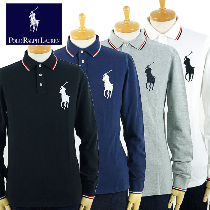 Pony Color Big Ralph Lauren Sleeves Shirt Polo 4 Long zSjqVGUMLp