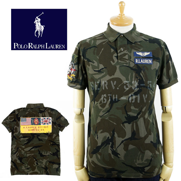 Limited Shirt Polo Ralph Lauren Edition Military 54AjLR3cqS