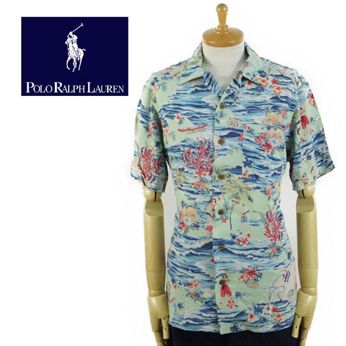 ラルフローレン Ralph Lauren Classic Fit Hawaiian Shirt アロハ シャツ あす楽