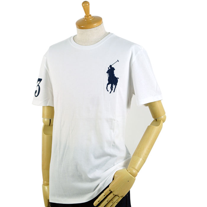 cec1abfc Four colors of Ralph Lauren POLO Ralph Lauren big pony T-shirts